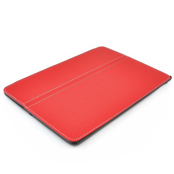 Leather Flip Case for iPad Air 2 - Red, IPD6-FLIP-65962