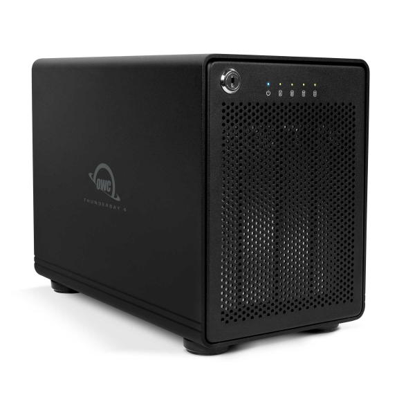 32.0TB (4 x 8TB) OWC ThunderBay 4, four-drive HDD with dual Thunderbolt 20Gb/s ports, OWCTB2IVT32.0S