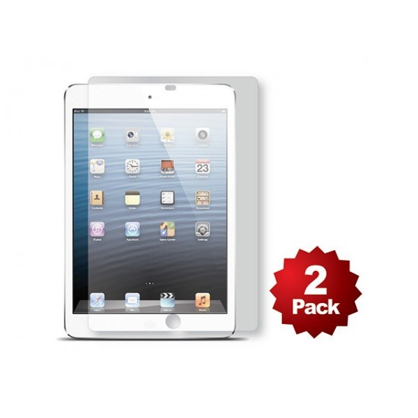 Screen Protector (2-Pack) w/ Cleaning Cloth for iPad mini and iPad mini Retina - Matte Finish, IPM-SCPROT-9885