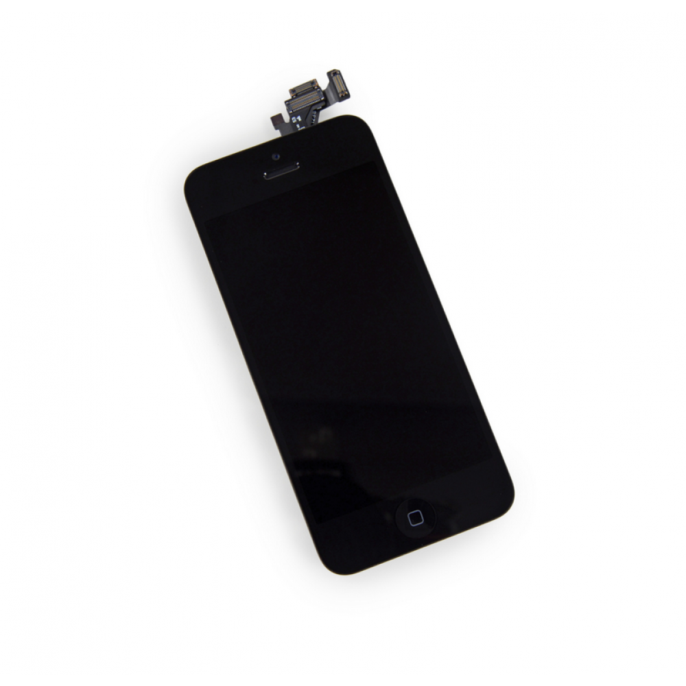 iPhone 5 Display Assembly with Home Button and Front Camera - Black, I5-031B