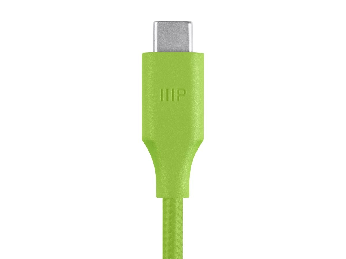 Monoprice Palette Series USB Type-C to Type-C 3.0 Cable - 5Gbps, 3A, Braided, , 15097