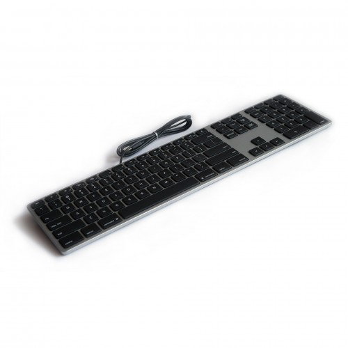 Matias Wired Aluminum Keyboard for Mac - Space Grey
