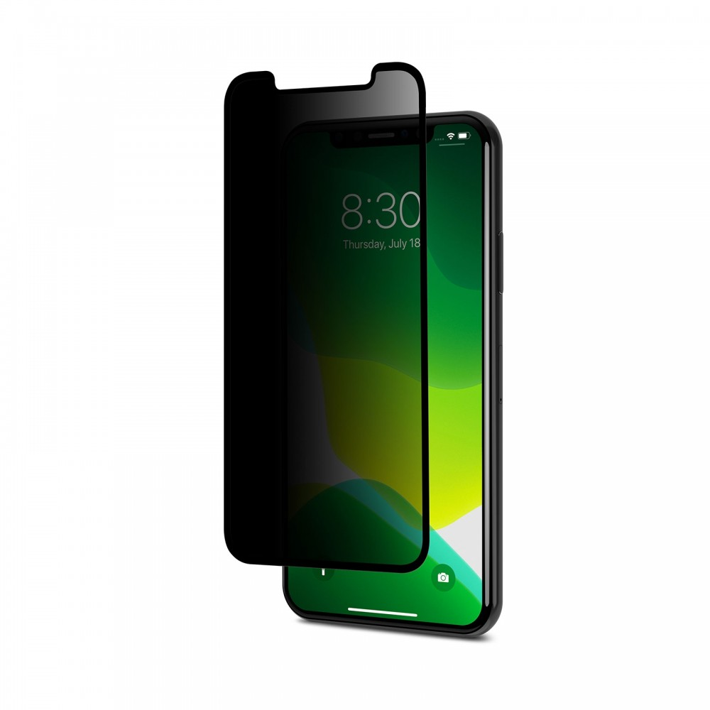 Moshi IonGlass Privacy for iPhone 11 Pro / X / Xs - Black, 99MO115003