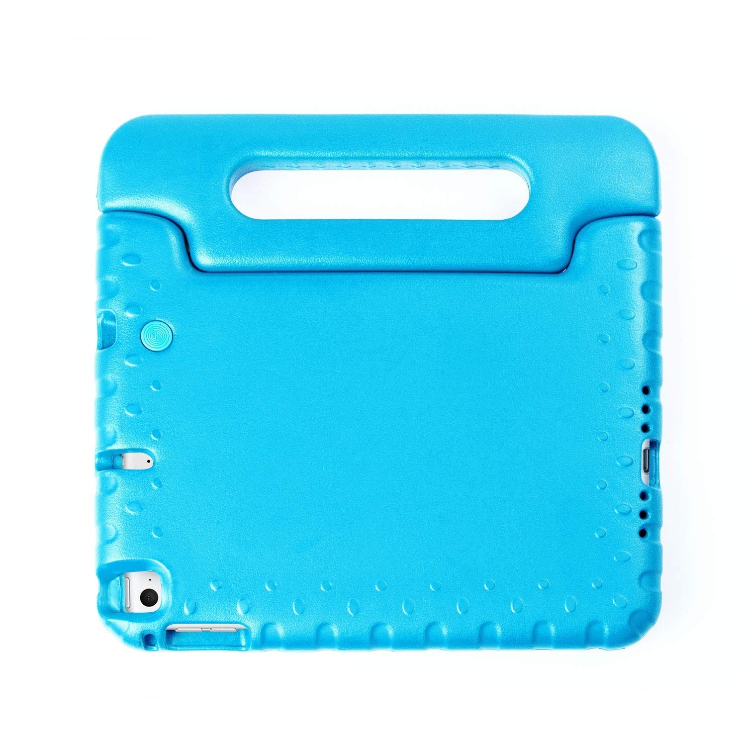 Kids Case for iPad Mini 5, 4 - Light Weight Shockproof Convertible Handle Super Protective Stand Kids - Blue, B07Q7H7L7N
