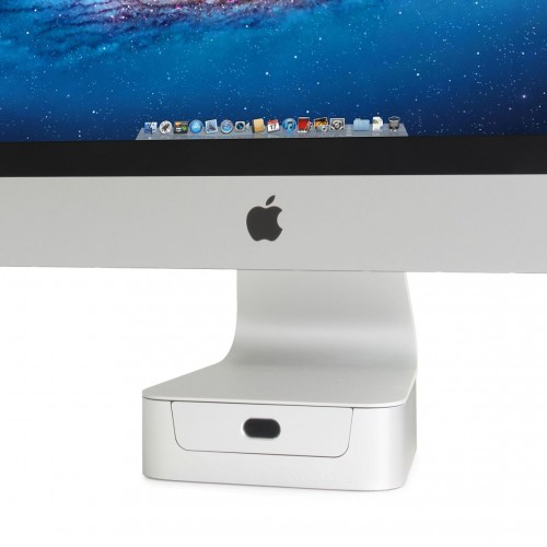 Rain Design mBase For 27-inch iMac - Silver