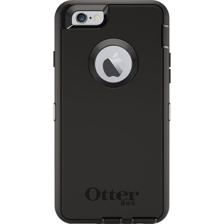 OtterBox Defender Case for iPhone 6/6s (Black), 77-52133