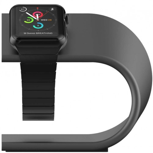 **DISCONTINUED** Nomad Stand for Apple Watch - Space Grey