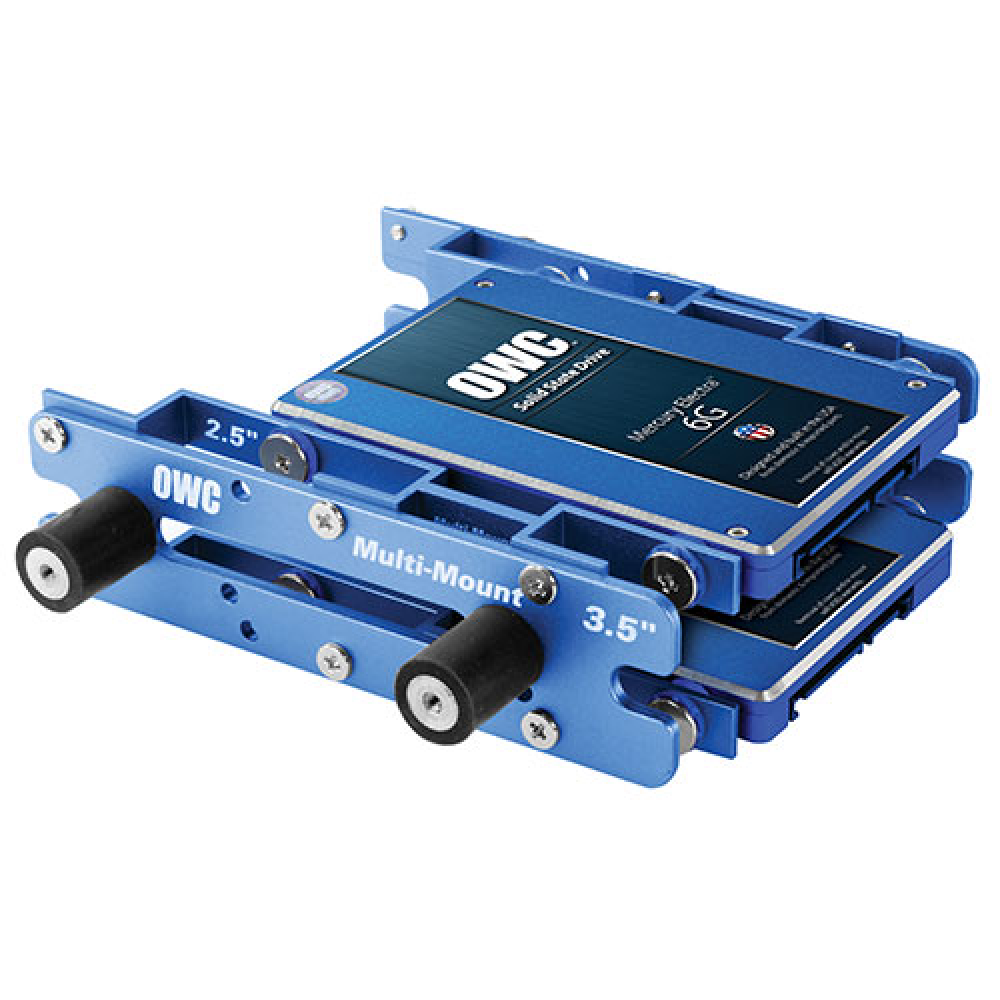 """OWC Multi-Mount: 2.5"""" to 3.5"""" (x2) and 3.5"""" to 5.25"""" Bracket Set, MM-35-2A-52-ST"""