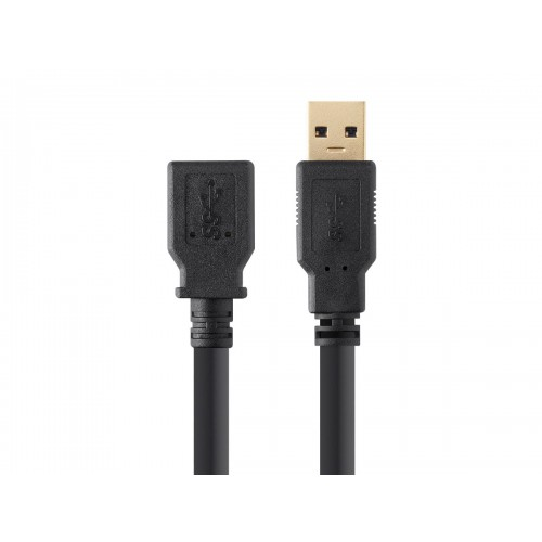 Select Series USB 3.0 A to A Female Extension Cable 3ft