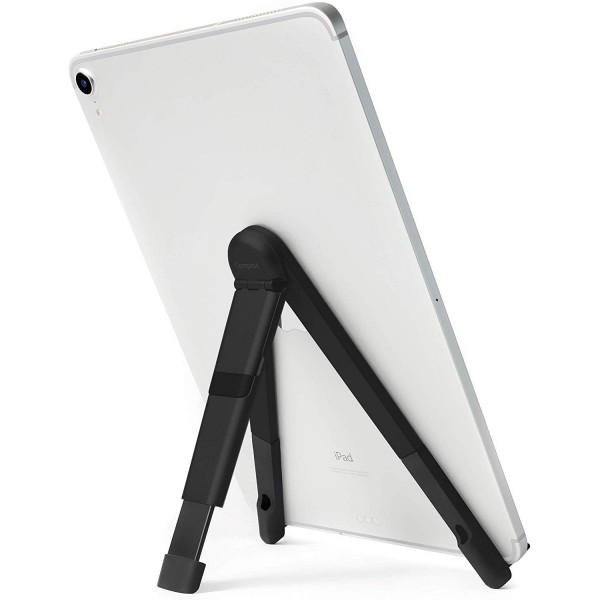 Twelve South - Compass Pro - Black - Metal Folding Stand For iPad, 12-1834