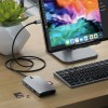 Satechi USB-C On-the-Go Multiport Adapter - Space Grey, ST-UCMBAM
