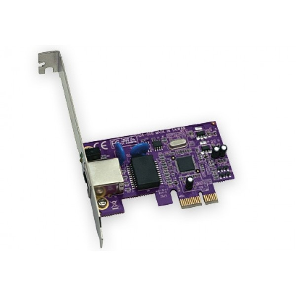 Sonnet Technologies Presto Gigabit Ethernet PCI-e (PCI Express) Card 10/100/1000 with Link Aggregation