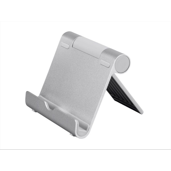 Monoprice Multi-Angle Aluminum Stand for Tablets, e-readers, and Smartphones, 16265