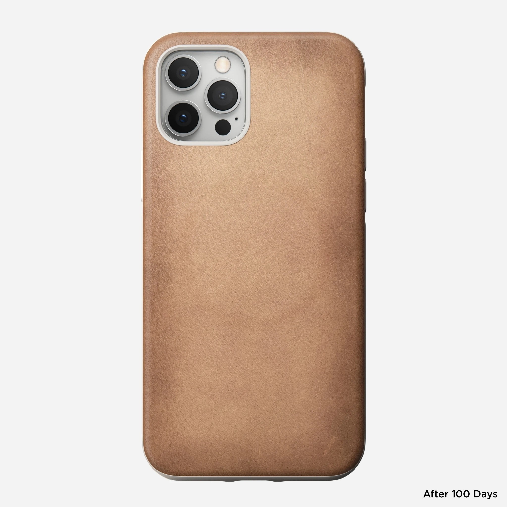 Nomad - MagSafe Leather Case - iPhone 12/12 Pro - Natural, NM01972785
