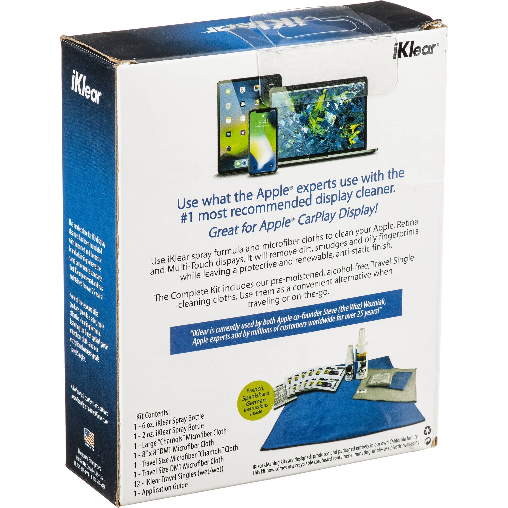 Klear Screen iKlear - The Complete Cleaning Kit, IKCCK