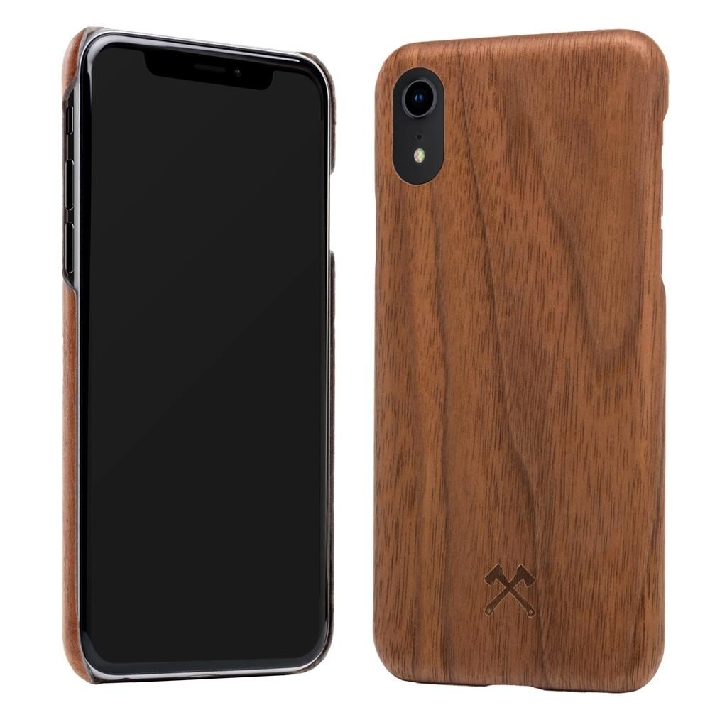 Woodcessories EcoCase Slim for iPhone XR - Walnut, eco271