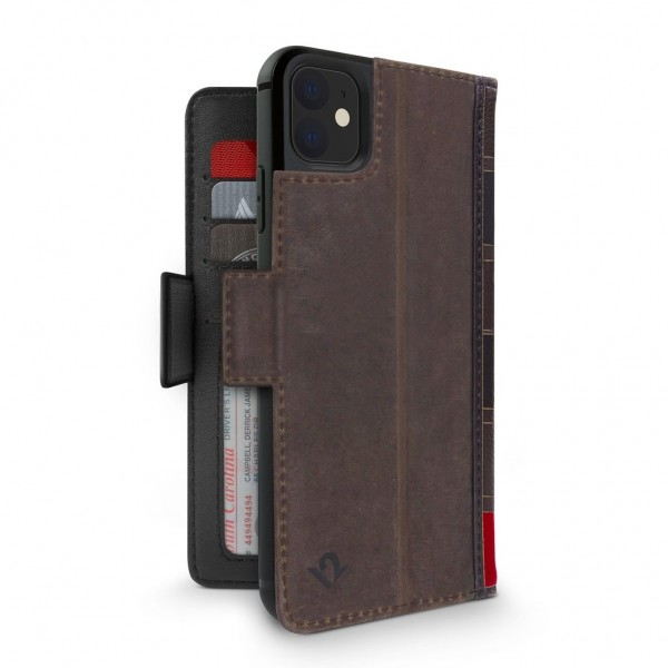 Twelve South BookBook for iPhone 11 - Brown, 12-1928