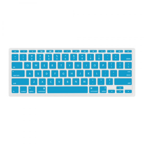 "NewerTech NuGuard Keyboard Cover for all 2011-2016 MacBook Air 11"" models - Light Blue, NWTNUGKBA1211BL"