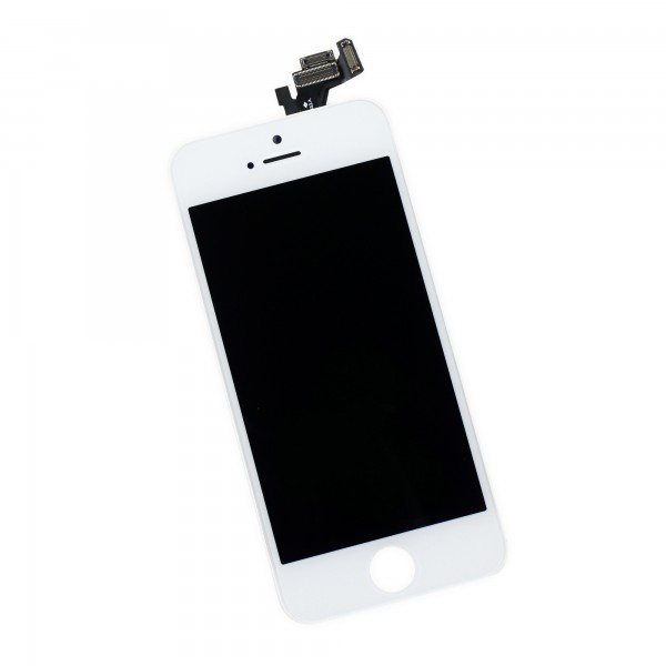 iFixit iPhone 5 LCD Screen and Digitizer Full Assembly, New, Part Only - White, IF118-028-2