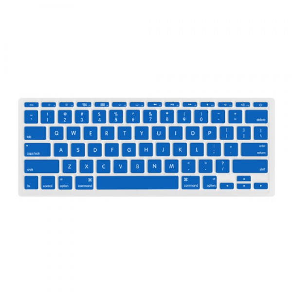 "NewerTech NuGuard Keyboard Cover for all 2011-2016 MacBook Air 11"" models - Blue , NWTNUGKBA1211DB"