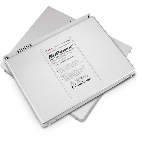 "NewerTech NuPower 60 Watt-Hour Replacement Battery for MacBook Pro 15"" non-Unibody (2006 - 2008)"