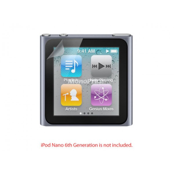 Screen Protective Film w/ Privacy Finish for iPod Nano 6th Generation, N6-8332