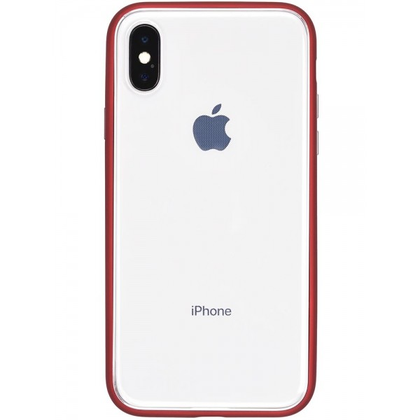 Power Support Shock Proof Air Jacket for iPhone X - Red, PGK-43