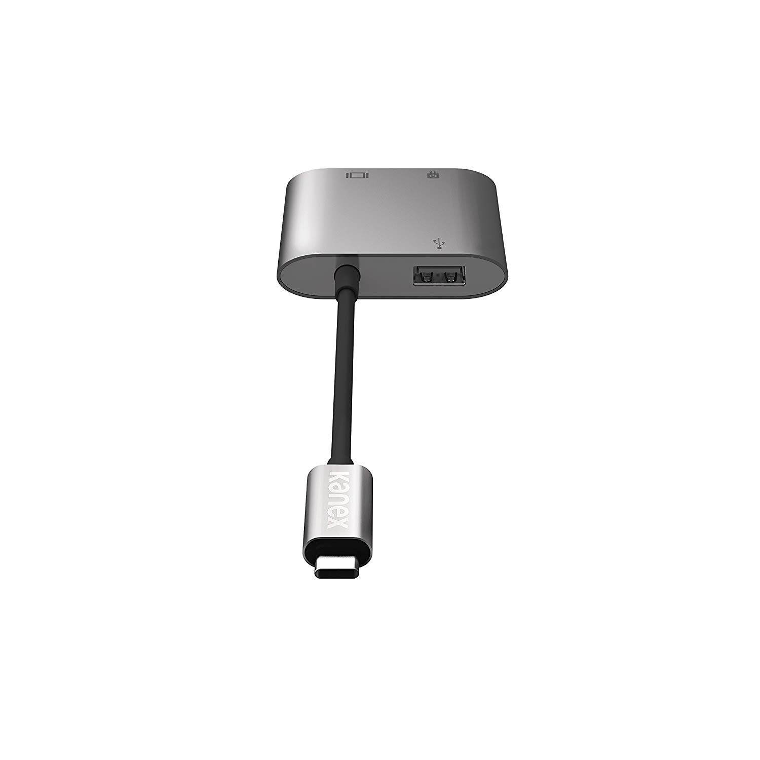Kanex USB-C Multimedia 4K HDMI USB Charging Adapter for Macbook with Pass Thru Charging, K181-1041-SG4i