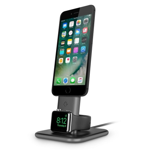 Twelve South HiRise Duet for Apple Watch & iPhone/iPad - Space Grey