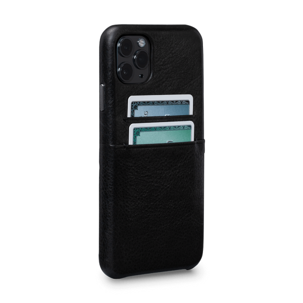 Sena - Snap On Wallet Case for iPhone 11 Pro Max - Black, SFD450NPUS