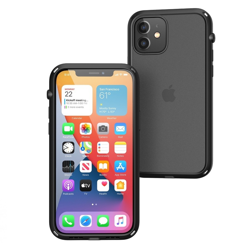 Catalyst Influence Impact Case for iPhone 12 / 12 Pro - Black, CATDRPH12BLKM