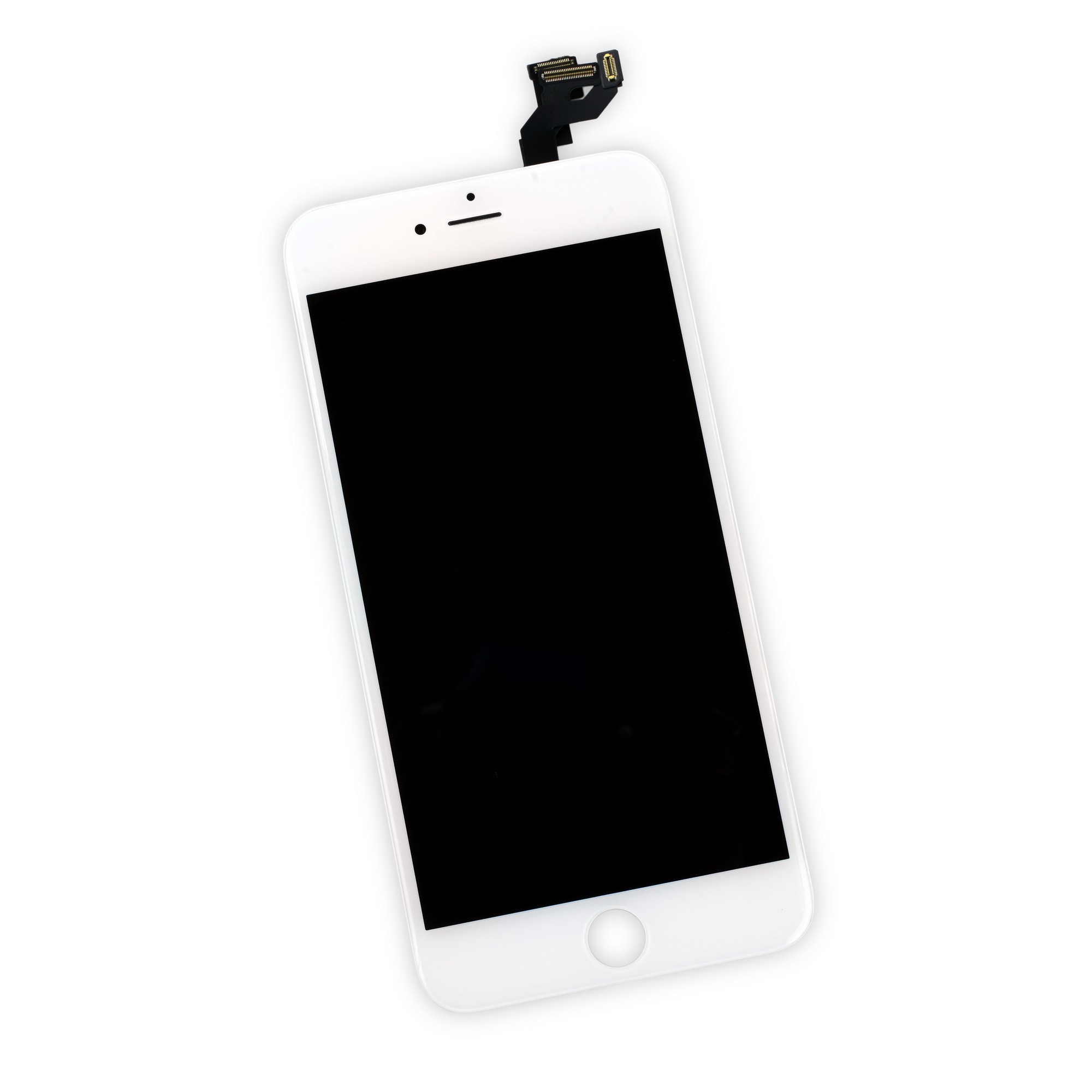 iFixit iPhone 6S Plus LCD Screen and Digitizer Full Assembly - White - Full Repair Kit Including Tools, IF315-033-4