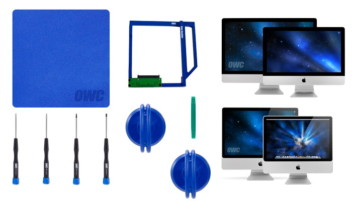 OWC Data Doubler iMac 2009-2011 Optical Bay Drive/SSD Mounting Solution - With Tools, OWCDDIMCL0GB
