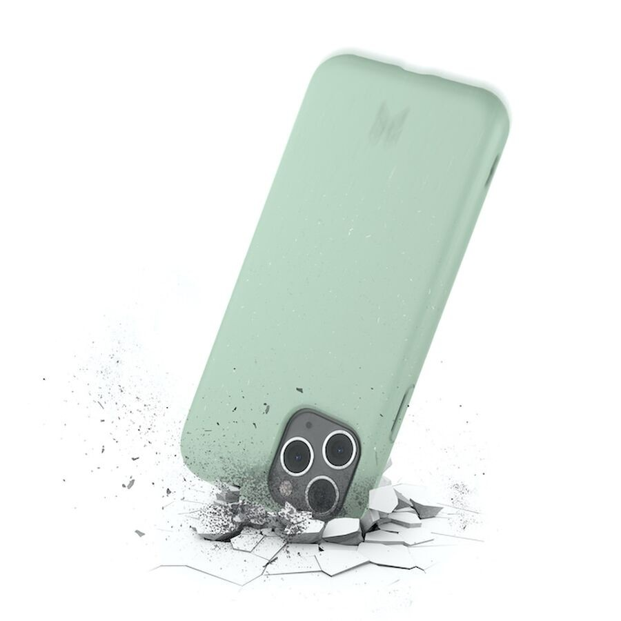 Woodcessories - BioCase - iPhone 12/12 Pro - Mint Green, eco463