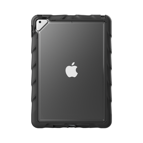 Gumdrop DropTech Clear for iPad 10.2 (7th, 8th & 9th Gen) with Hand Strap with 360 degree rotation, 15GD-DTC-IPAD102-HS