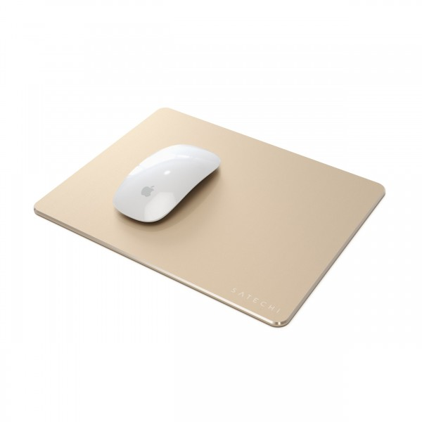 **DISCONTINUED** Satechi Aluminum Mouse Pad - Gold, ST-AMPADG