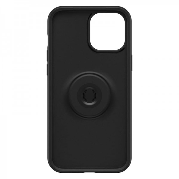 OtterBox Otter+Pop Symmetry Series Case For iPhone 12 Pro Max - Black, 77-65484