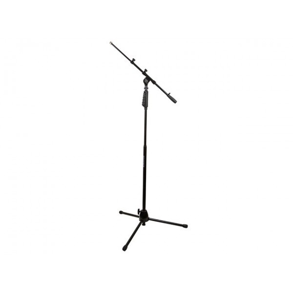 Microphone Stand with Hand-Clutch & Telescopic Boom, MIC-602530
