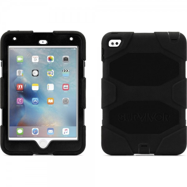 Griffin Technology Survivor All-Terrain Case for iPad mini 4 - Black, GB41353