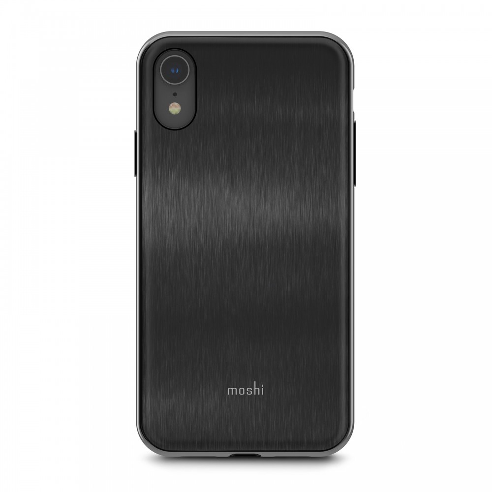 Moshi iGlaze for iPhone Xr - Black, 99MO113001