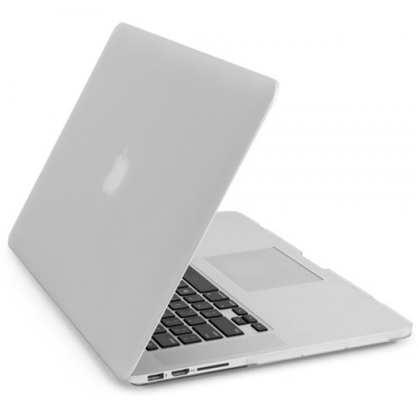 "NewerTech NuGuard Snap-On Laptop Cover for 15"" MacBook Pro with Retina Display - White, NWTNGSMBPR15WH"