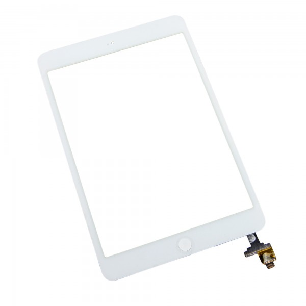 iPad mini 1/2 Front Glass/Digitizer Touch Panel Full Assembly, Part Only, New - White, IF122-001-2
