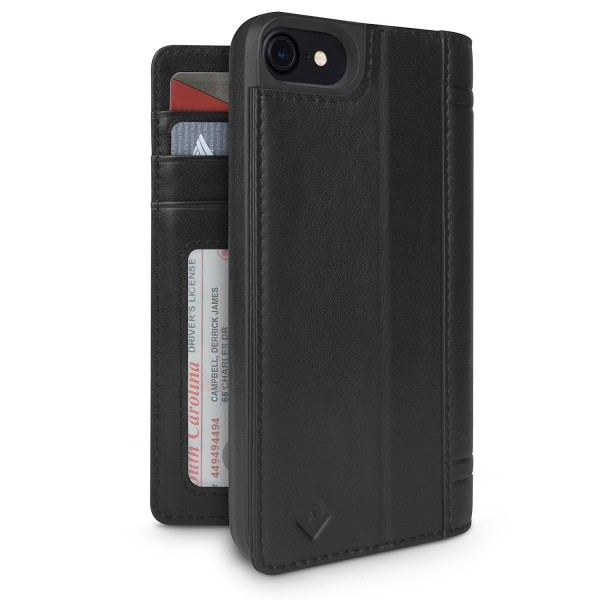Twelve South Journal for iPhone 8/7/6S - Black, 12-1663