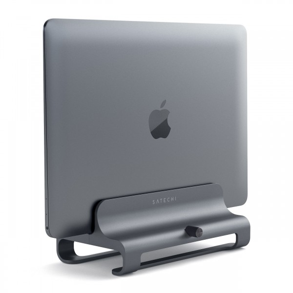 Satechi Vertical Laptop Stand - Space Grey, ST-ALVLSM