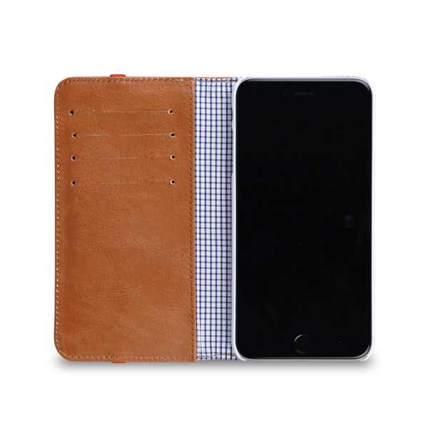 Toffee Flip Wallet Case for iPhone 6/6S - Tan, TFL-614-T