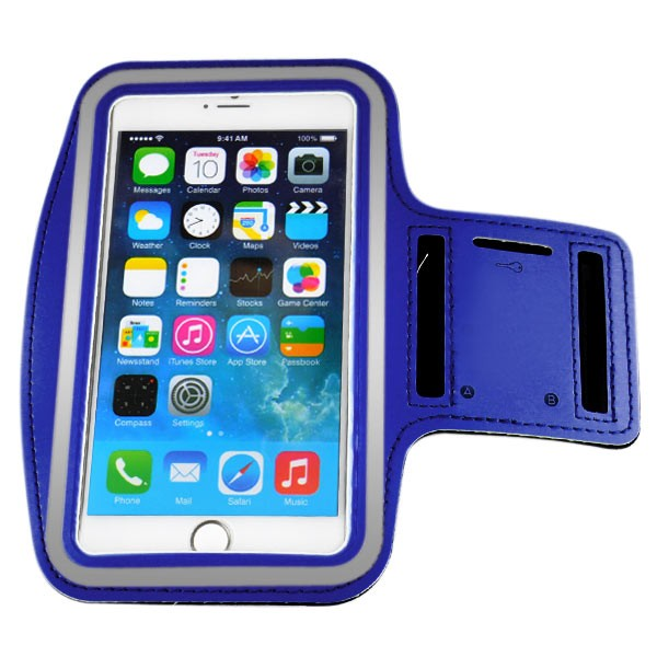 Armband for iPhone 6 Plus 5.5 inch - Dark Blue, IPH6+ARM-64846