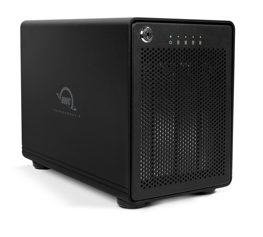 32TB OWC ThunderBay 4 RAID 5 4-Drive Enterprise HDD Storage Solution with Dual Thunderbolt 2 Ports, OWCTB2SRE32.0S