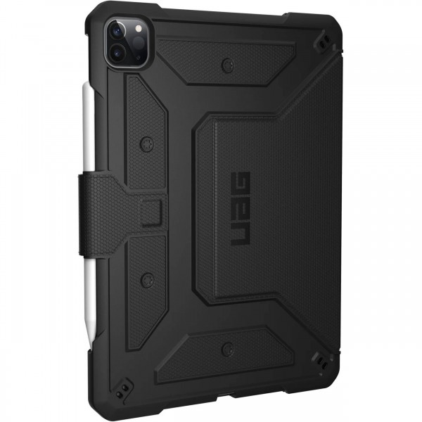 "Urban Armor Gear Metropolis Case for iPad Pro 11"" (2nd Gen) - Black, 122076114040"