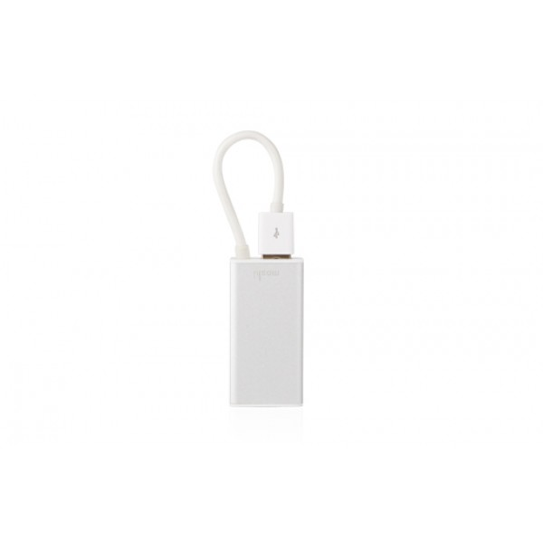 **DISCONTINUED** Moshi USB to ethernet adapter for MacBook Air (Includes extra USB port), MOSH-USB-ETH