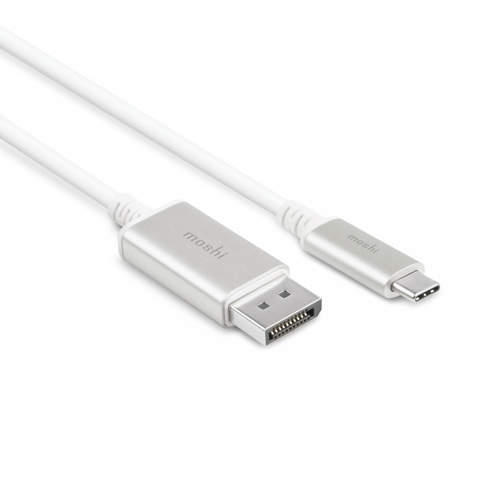 Moshi USB-C to DisplayPort 5K Cable (1.5 m) - Jet Silver, 99MO084102